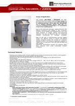 Control units DAI-1300S / 2300S