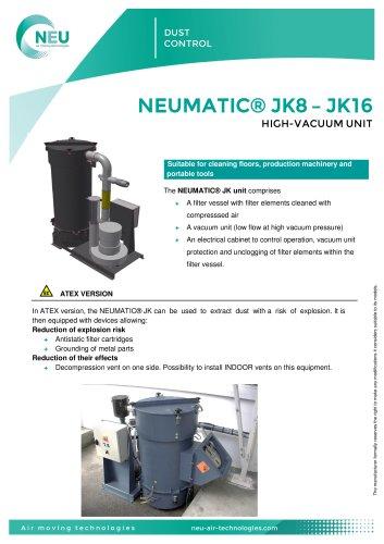 Centrale Neumatic® JK8 - JK16