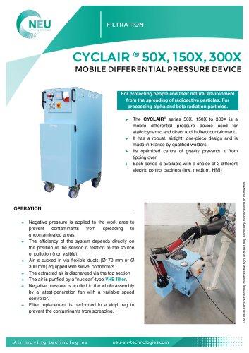 CYCLAIR® 50X - CYCLAIR® 150X - CYCLAIR® 300X