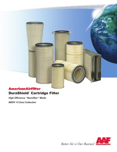 Durashield cartridge filters