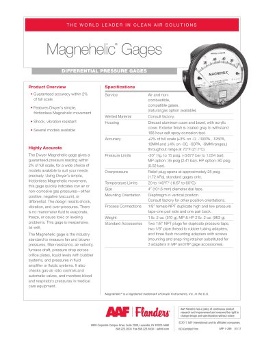 Magnehelic Gages