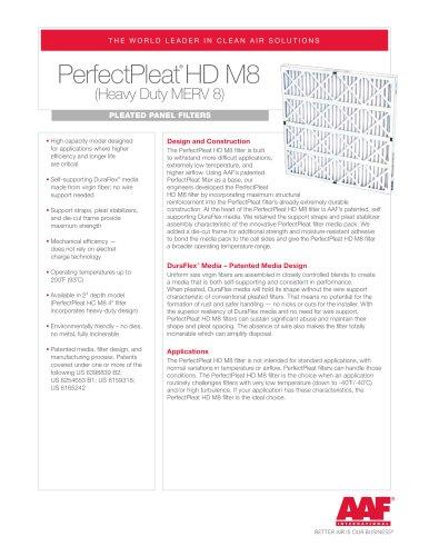 PerfectPleat HD M8