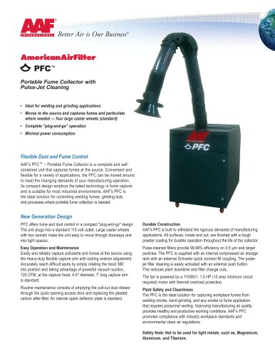 PFC - Portable Fume Collector