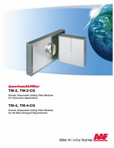 TM-2 Ceiling Filter Modules