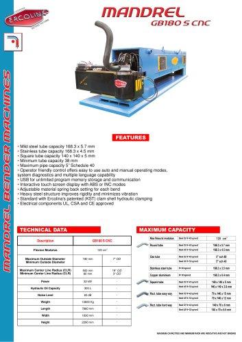 GB180CNC Giga Bender