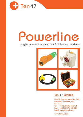 Powerline Connectors and Network Devices