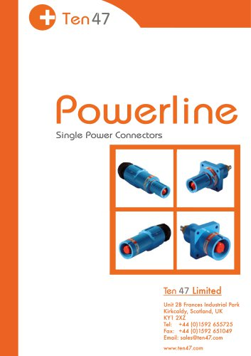 Powerline Single Power Connectors
