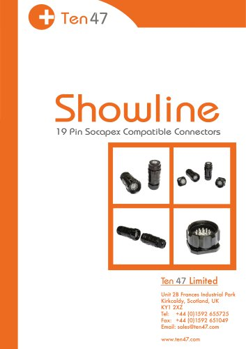 Showline 19 Pin Connectors