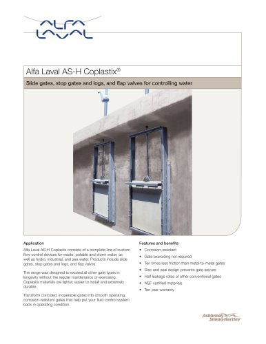 Alfa Laval AS-H Coplastix®