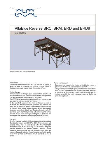 AlfaBlue Reverse BRC, BRM, BRD and BRD6