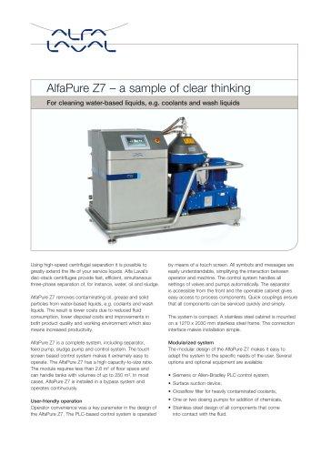 AlfaPure Z7