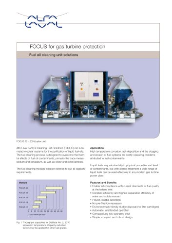 Focus - fuel oil cleaning unit