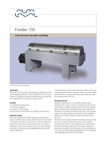 Foodec 100