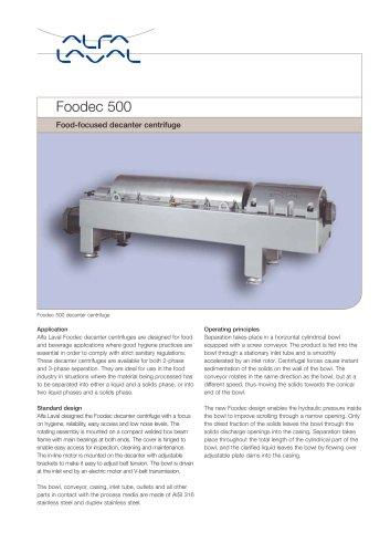 Foodec 500