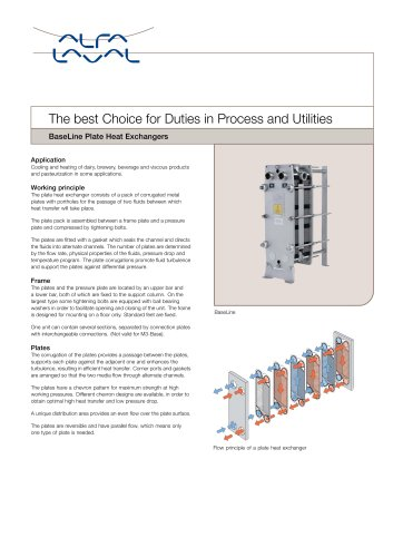 PD Sheet - BaseLine - Plate Heat Exchanger