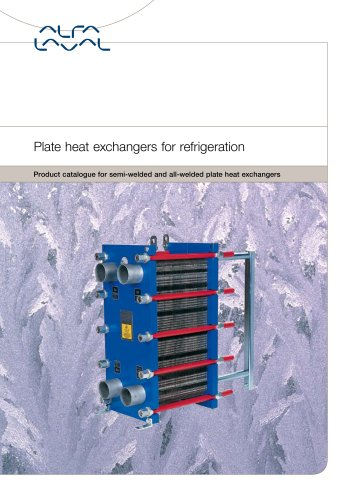 Plate heat exchangers for refrigeration