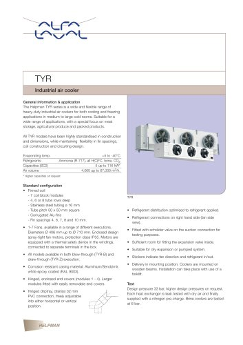 TYR - Industrial air cooler