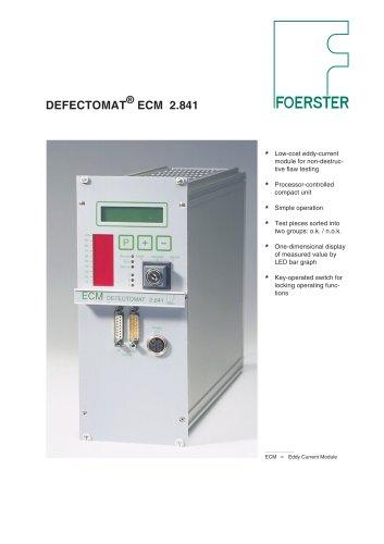 DEFECTOMAT ECM leaflet