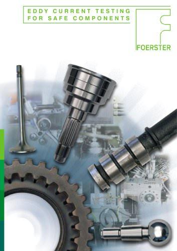 Eddy current testing for safe components brochure