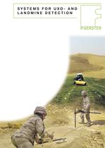 Landmine and UXO detection brochure - 1