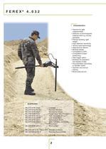 Landmine and UXO detection brochure - 2