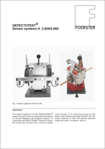 Sensor system H leaflet