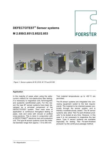 Sensor system M leaflet