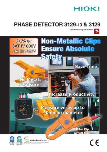 HIOKI 3129 and 3129-10 Phase Detectors