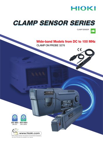 HIOKI 327x Series Clamp On Sensors