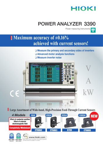 HIOKI 3390 Power Analyzer