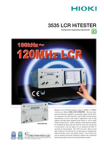 HIOKI 3535 LCR HiTESTER