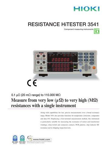 HIOKI 3541 Resistance HiTESTER