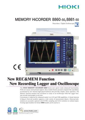 HIOKI 8860-50/8861-50 MEMORY HiCORDER