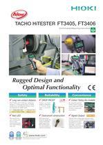 HIOKI FT3405/FT3406 Tacho HiTESTER