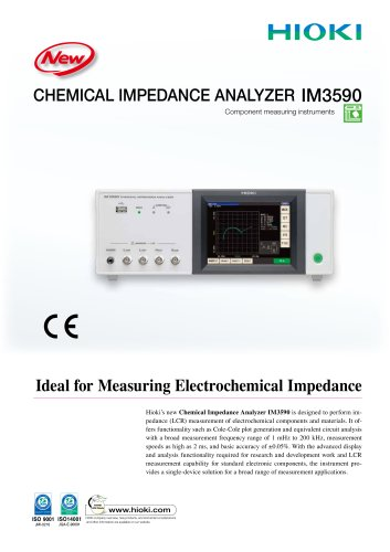 HIOKI IM3590 Chemical Impedance Analyzer