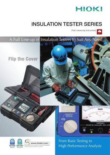 HIOKI Insulation Tester Series