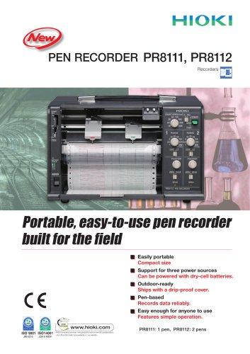 HIOKI PR8111/81112 Pen Recorders