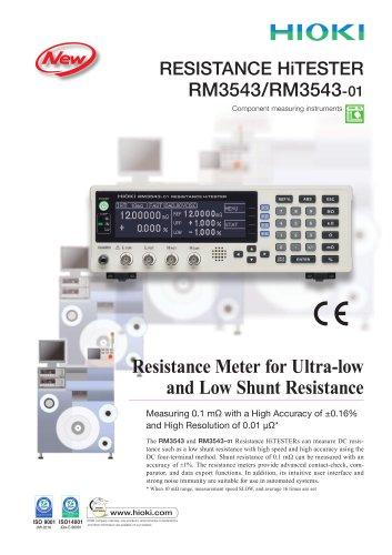 HIOKI RM3543 Resistance HiTESTER