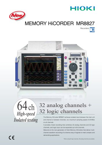 MR8827 Memory HiCorder