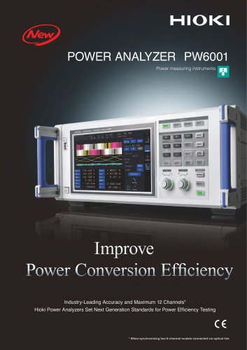 PW6001 Power Analyzer