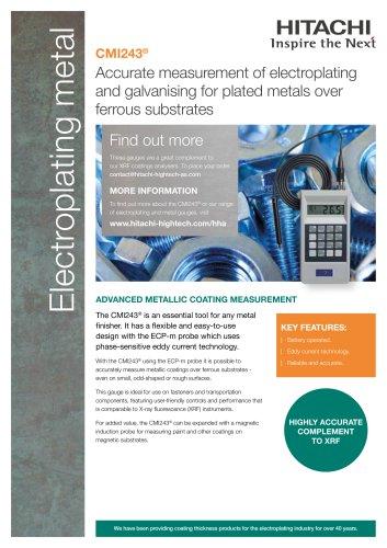 CMI243® Electroplating metal