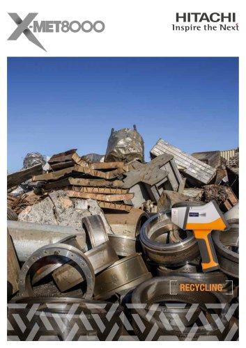 Scrap Metals Analyzer - X-MET8000