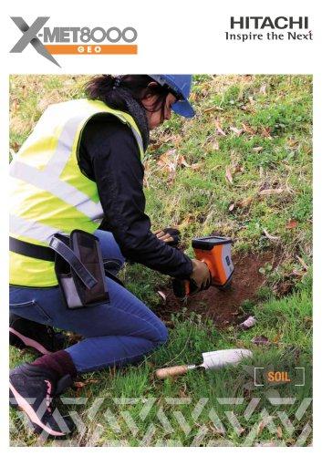X-MET8000 handheld XRF for soil and environmental screening