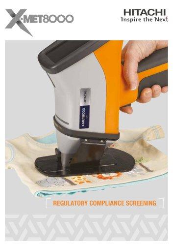 X-MET8000CG - handheld XRF analyser for regulatory compliance screening