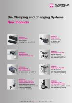 Die Clamping and Changing Systems - News