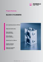 Program summary Block Cylinders