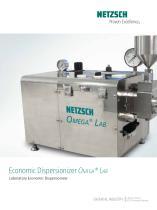 Economic Dispersionizer Omega® Lab
