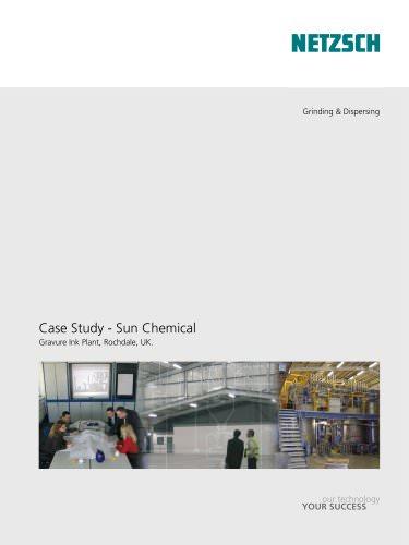 NETZSCH Case Study Sun Chemical