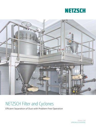 Netzsch filter and cyclones