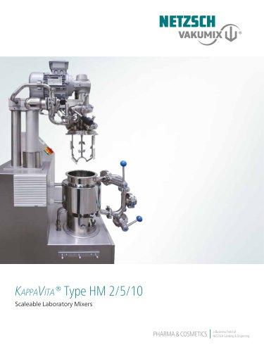 NETZSCH KappaVita Laboratory Mixers